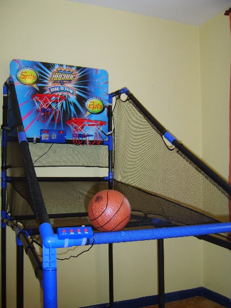 twin hoops basketball game hire