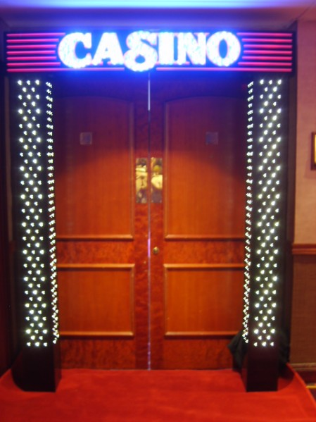 casino party entrance