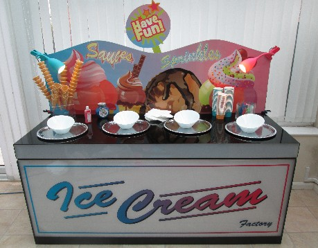 mobile ice cream bar hire