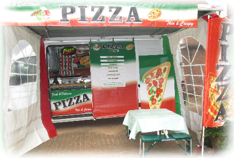 mobile pizza van hire
