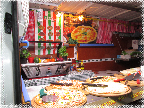 mobile pizza caterers
