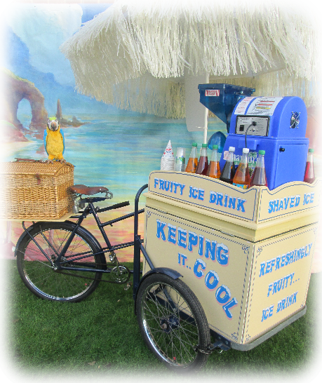 hire frozen drinks cart