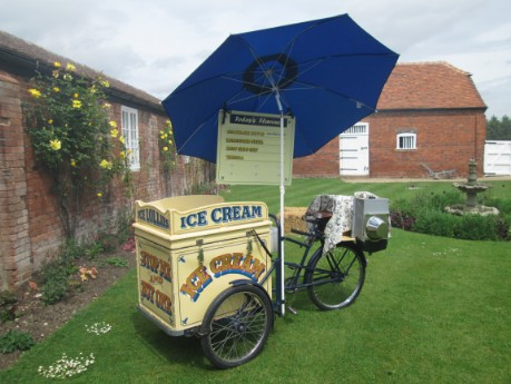 rent an ice cream bike for exhibition trade show