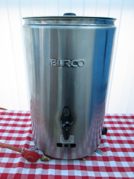 hire a catering urn for outside use