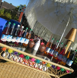 shaved ice drinks bar