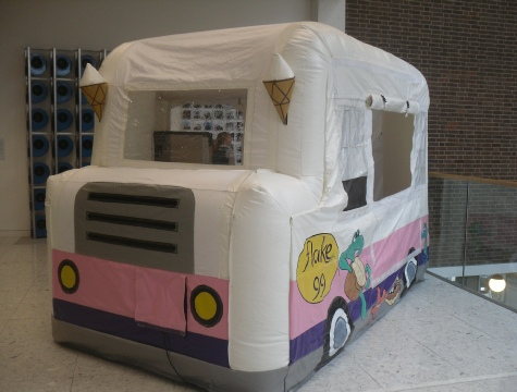 ice cream van hhire for promotional use.