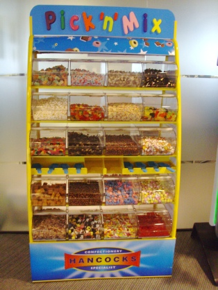 pick and mix stand rental