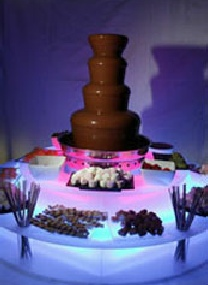 chocolate fountain services