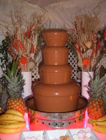 chocolate fountain central london